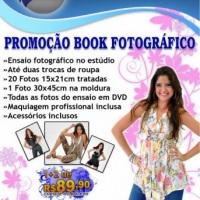 Promoção Book Fotográfico Simples