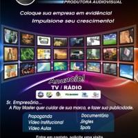 Cobertura de eventos sociais e comerciais para TV.