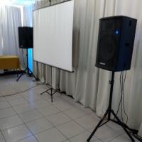 Sonorização para Evento Corporativo.