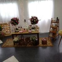 Decoração rústica, as noivas piram