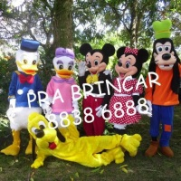 TURMA DA DISNEY - MICKEY, MINNIE, DONALD, MARGARIDA, PATETA E PLUTO