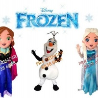 ANA, OLAF E ELZA DO FROZEN
