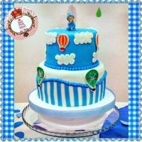 Criação: Princesa dos Bolos Tema: Baby Chá de Menino