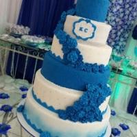 Setor cakes - bolos de casamento com noivos caricaturas ( sucesso)