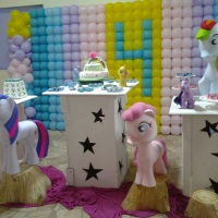MESA TEMA MY LITTLE PONY