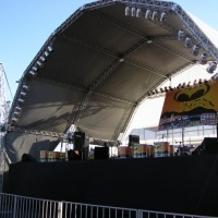 palcos profissionais , som e iluminação