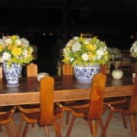 Mesa de convidados - Café Padock