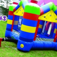 Pula pula inflável. Sétima Festas e Eventos