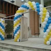 Arco e Pilastra Balões