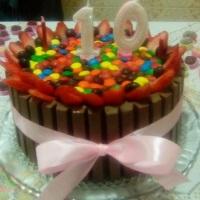 Torta kit Kat!