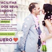 Site de Casamento - Quero Presente Virtual