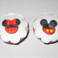 cupcake recheado com brigadeiro gourmet