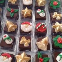 bombons decorados Natal