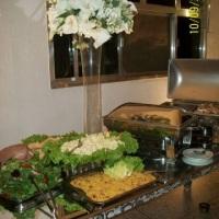 Mesa de buffet churrasco