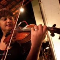 Violinista Raquel Sodré em Cerimônia de Casamento.