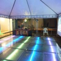 Estrutura, pista de dança, e muito mais para seu evento.