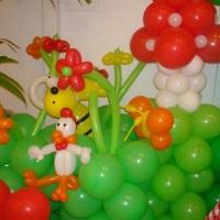 Escultura de bexigas