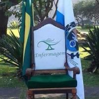 Cadeira Personalizada com o logo do Curso