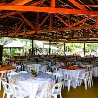 Salão de Festas com churrasqueira