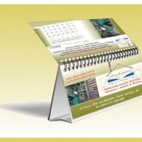 calendario de mesa com aero