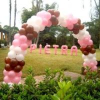 Arco e nome de balões