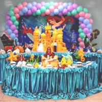 Mesa temática Ariel