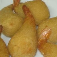 Camarão Empanado