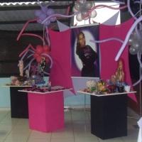 Festa Tenn decoração