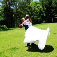 Área externa, é possível também realizar casamentos ao ar livre