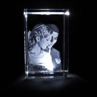 Cristal Cubo 4cmx4cmx6cm