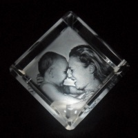 Cristal Chanfrado 6cmx6cm6cm