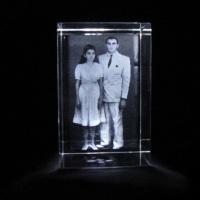 Cristal Cubo 5cmx5cmx8cm