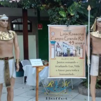 FESTA DE CONFRATERNIZAÇÃO - TEMA (EGITO ANTIGO)