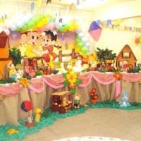 decoração infatil turma da monica  junina