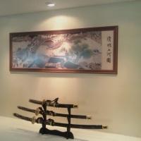 decoração(espada samurai)