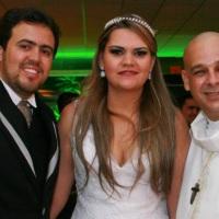 Casamento de KENEDY e ERIKA celebrado pelo Rev. Markos Leal em 09 de janeiro de 2015
