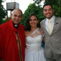 Casamento de NADELSON e DANIELLE celebrado pelo Rev. Markos Leal em 27 de dezembro de 2014 no CELEIR