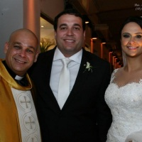 Casamento de Ladário e Sandra celebrado pelo Rev. Markos Leal em 12 de dezembro de 2014 em Di Branco
