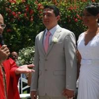 Casamento de Cleber e Wilka celebrado pelo Rev. Markos Leal em 23 de novembro de 2014 em Casa Caiada