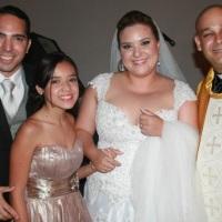 Casamento de Carlos Eduardo e Katiany celebrado pelo Rev. Markos Leal em 22 de novembro de 2014