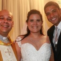 Casamento de Sidney e Rafaella celebrado pelo Rev. Markos Leal em 01 de novembro de 2014 no Porto Fi