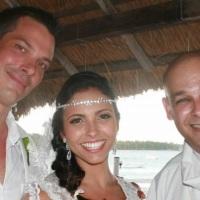 Casamento do Frances Emmanuel e a Brasiliense Fernanda pelo Rev. Markos Leal em 30 de outubro de 201