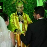 Casamento de Daniel e Paula celebrado pelo Rev. Markos Leal em 18 de outubro de 2014 na Ana Paula G.