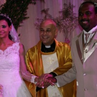 Casamento de Gustavo e Janaina celebrado pelo Rev. Markos Leal em 18 de outubro de 2014