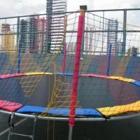 Nossa Cama Elástica 4m x 4m. As crianças vão pular de alegria!