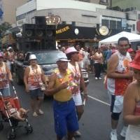 bloco de carnaval no meier
