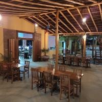 Área aberta anexada ao Restaurante/Salão.