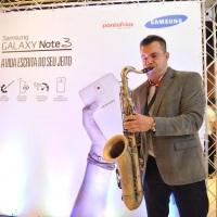 Ricciere no evento da Samsung
