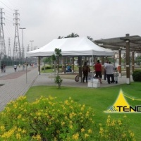 Tenda 6x3 em evento no Parque Madureira. Acesse nosso site para mais fotos.