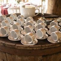 xícaras louça - aluguel